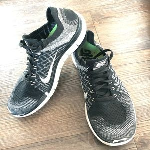 NIKE FLYKNIT FREE 4.0 Running Shoes 717075-001